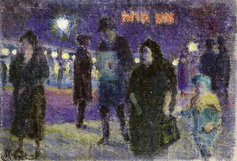 Artwork of Paris la nuit